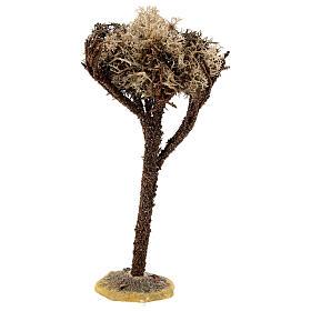 Árbol con base para belén de 8-10 cm s1