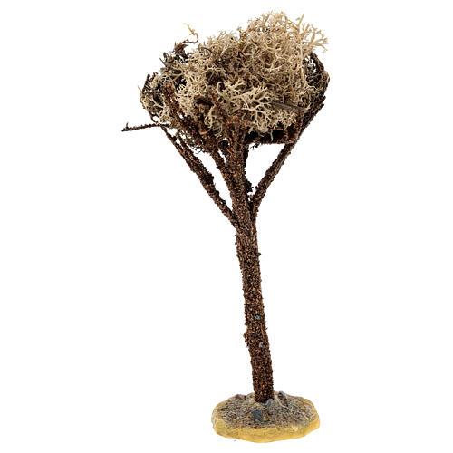 Árbol con base para belén de 8-10 cm 2