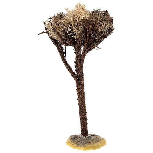 Árbol con base para belén de 8-10 cm 3