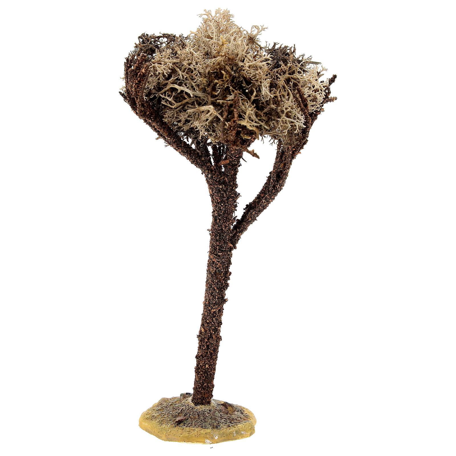 Albero con base per presepe di 8-10 cm 4