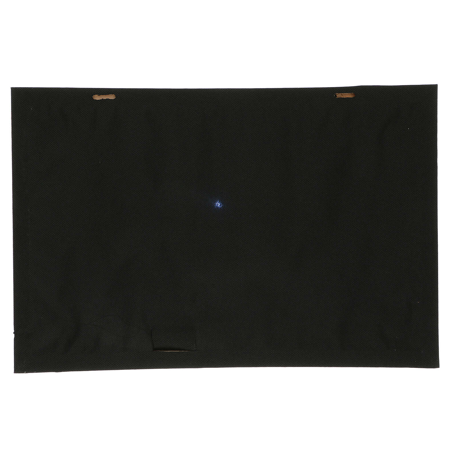 Tło noc rozgwieżdżona i kometa podświetlane 40x60 cm 4