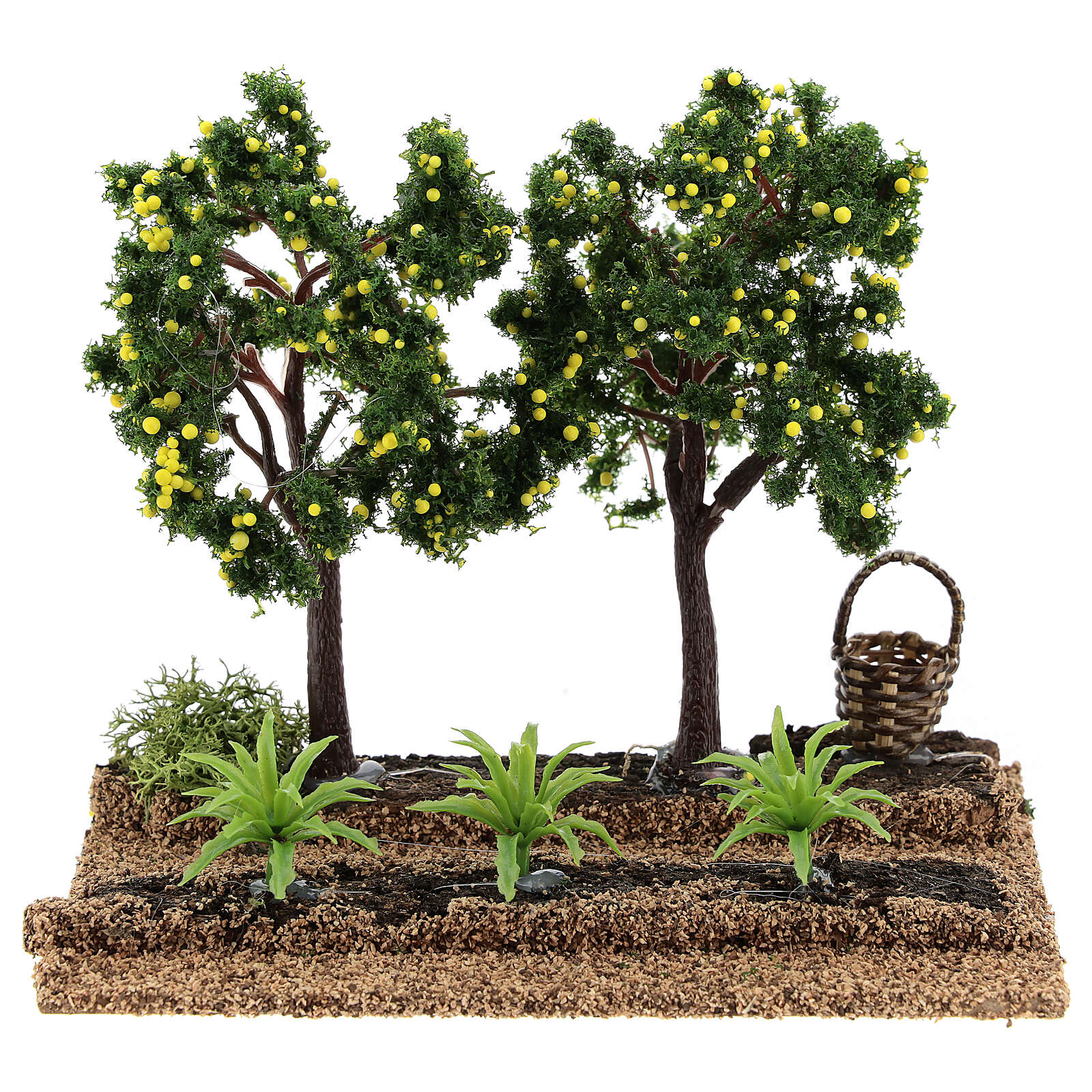 Lemon orchard figurine, 6-8 cm nativity 15x15x10 cm 4