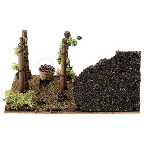 Vineyard figure 20x15x10 cm 8 cm nativity 4