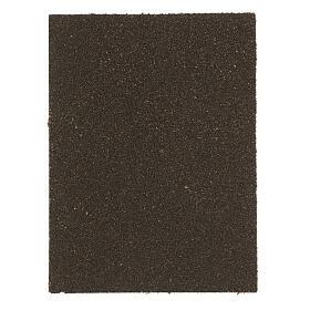 Panneau liège crèche briques à chevrons 35x25x1 cm s3