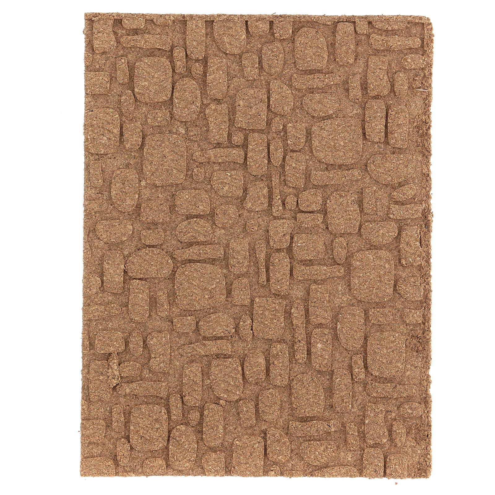 Pannello sughero muro pavimento fai da te mosaico 35x25 cm 4