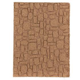Pannello sughero muro pavimento fai da te mosaico 35x25 cm s1
