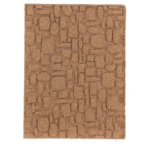 Pannello sughero muro pavimento fai da te mosaico 35x25 cm 1