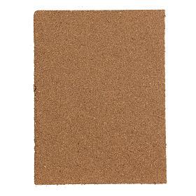 Panel cork wall floor DIY mosaic 35x25 cm s3