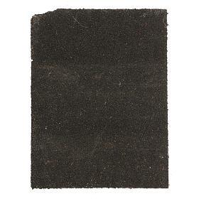 Painel cortiça pedras brancas para presépio 33x25 cm s3