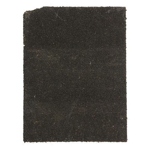 Painel cortiça pedras brancas para presépio 33x25 cm 3