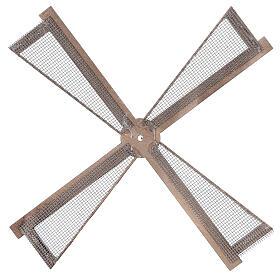 Pá para moinho de vento miniatura presépio estilo mediterrâneo 20x20 cm s3