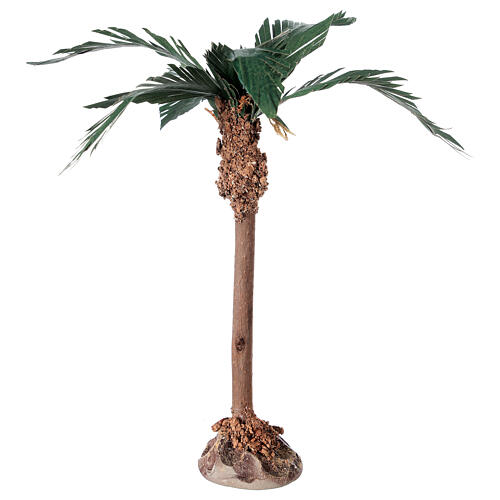 Miniature palm tree with wood trunk 15 cm 1