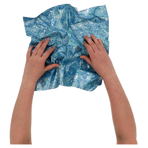 Mouldable paper glossy water effect 70x50 cm 2
