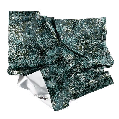 Papel moldeable efecto agua verde cm 35x35 4
