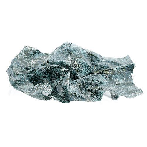 Papier à modeler effet eau verte 35x35 cm 3