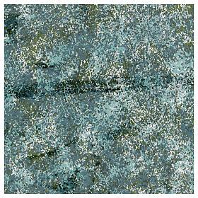Papel moldável efeito água verde 35x35 cm s1