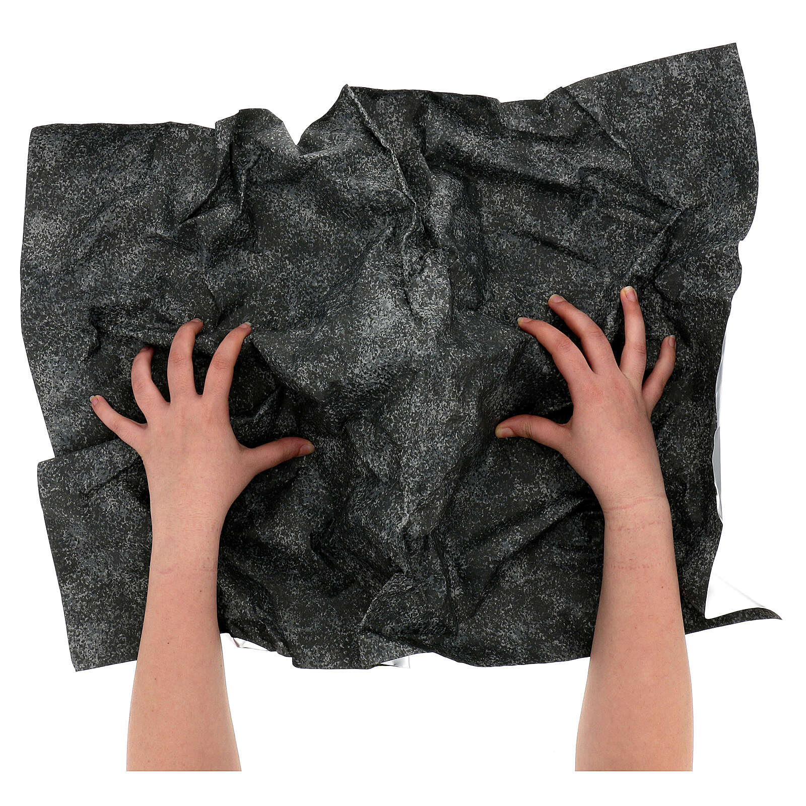 Mouldable paper, rock effect 70x50 cm 4
