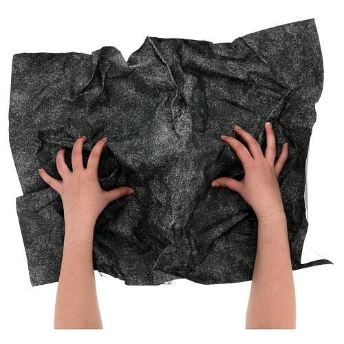 Mouldable paper, rock effect 70x50 cm 2