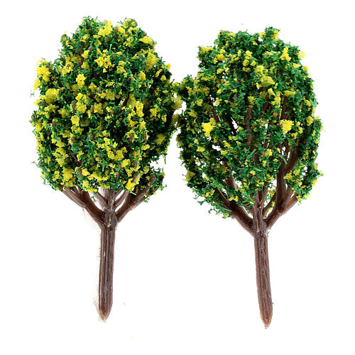 Lemon bushes for DIY Nativity scene (2 pcs) 2