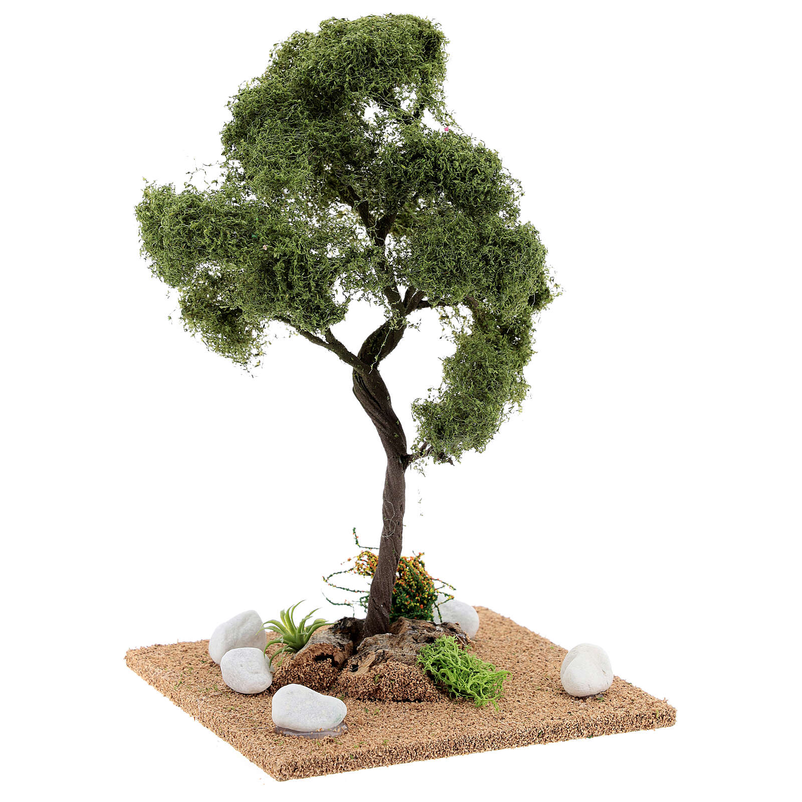Tree for crib: elm, height about 25 cm 4