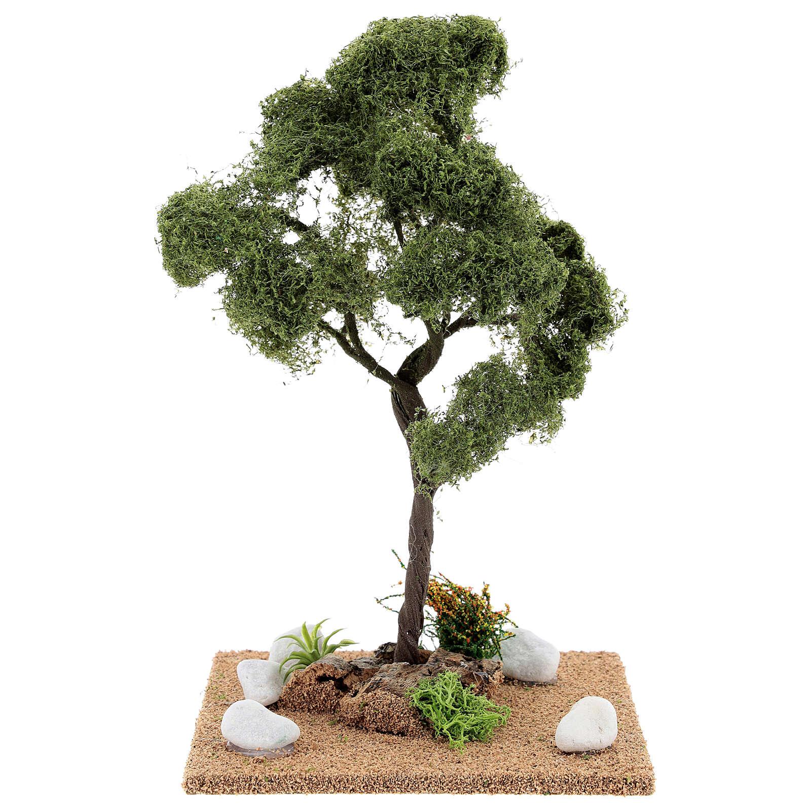 Miniature Elm tree h. 25 cm for nativity 4