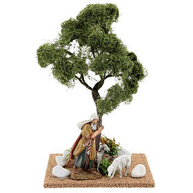 Miniature Elm tree h. 25 cm for nativity s5