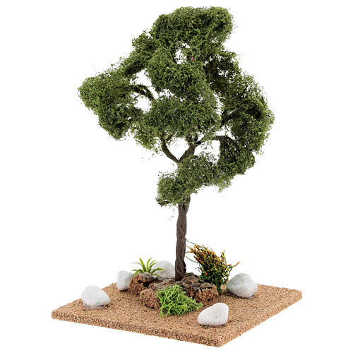 Miniature Elm tree h. 25 cm for nativity 2