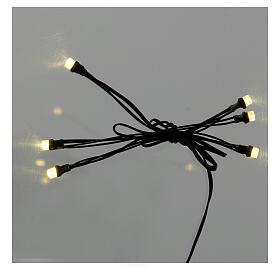Guirlande 5 points lumineux LED oranges 3,5V s1