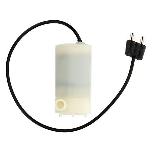 Bomba de água para fonte presépio com ficha baixa tensão 3,5 V 1