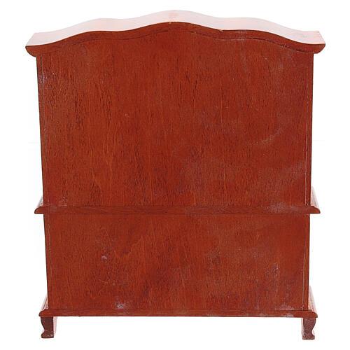 Mobiliário sala de jantar 9 peças para presépio com figuras altura média 12-14 cm 11