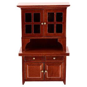 Set meubles bois salle à manger crèche 12 cm s5