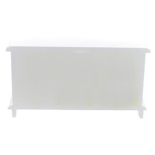 Meubles bois blanc 9 pcs crèche 12-14 cm 10
