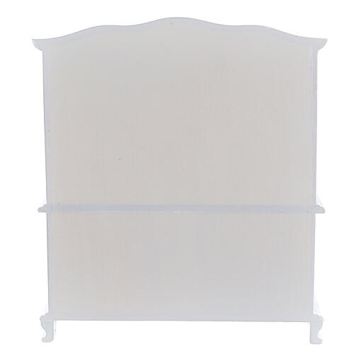 Meubles bois blanc 9 pcs crèche 12-14 cm 11