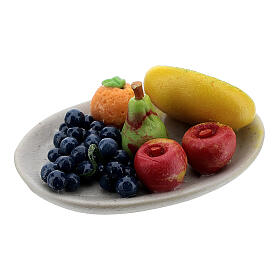 Set of 6 dishes with fruits for Nativity Scene with 8-10 cm figurines s4