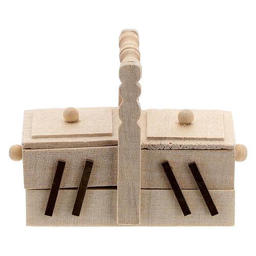 Seamstress' box for Nativity Scene with 10 cm figurines 1