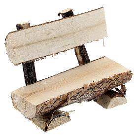 Banco tronco árbol belén 8 cm s3