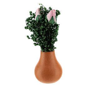 Vases à fleurs mixtes crèche 8 cm s1
