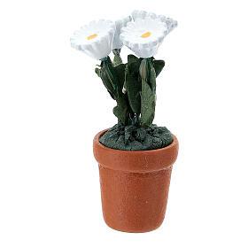 Vase fleurs mixtes colorées 4x2 cm crèche 10 cm s7