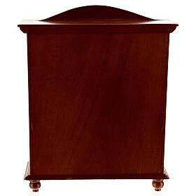 Lingère bois style classique 20x15x5 cm crèche 12-14 cm s3