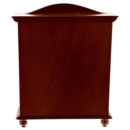 Lingère bois style classique 20x15x5 cm crèche 12-14 cm 3