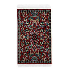 Carpet with various decorations 8x5 cm for Nativity scene 10-16 cm s2