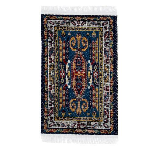 Carpet with various decorations 8x5 cm for Nativity scene 10-16 cm 1