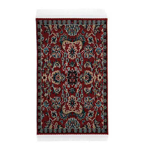 Carpet with various decorations 8x5 cm for Nativity scene 10-16 cm 2