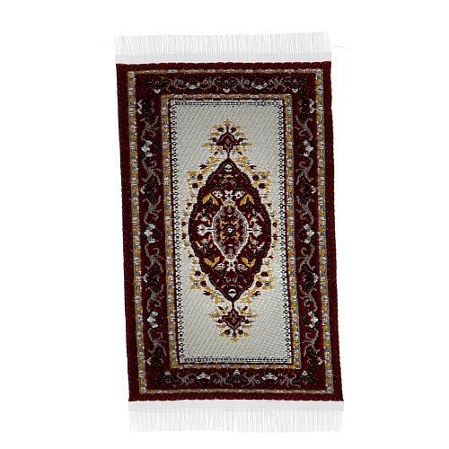 Carpet with various decorations 8x5 cm for Nativity scene 10-16 cm 5