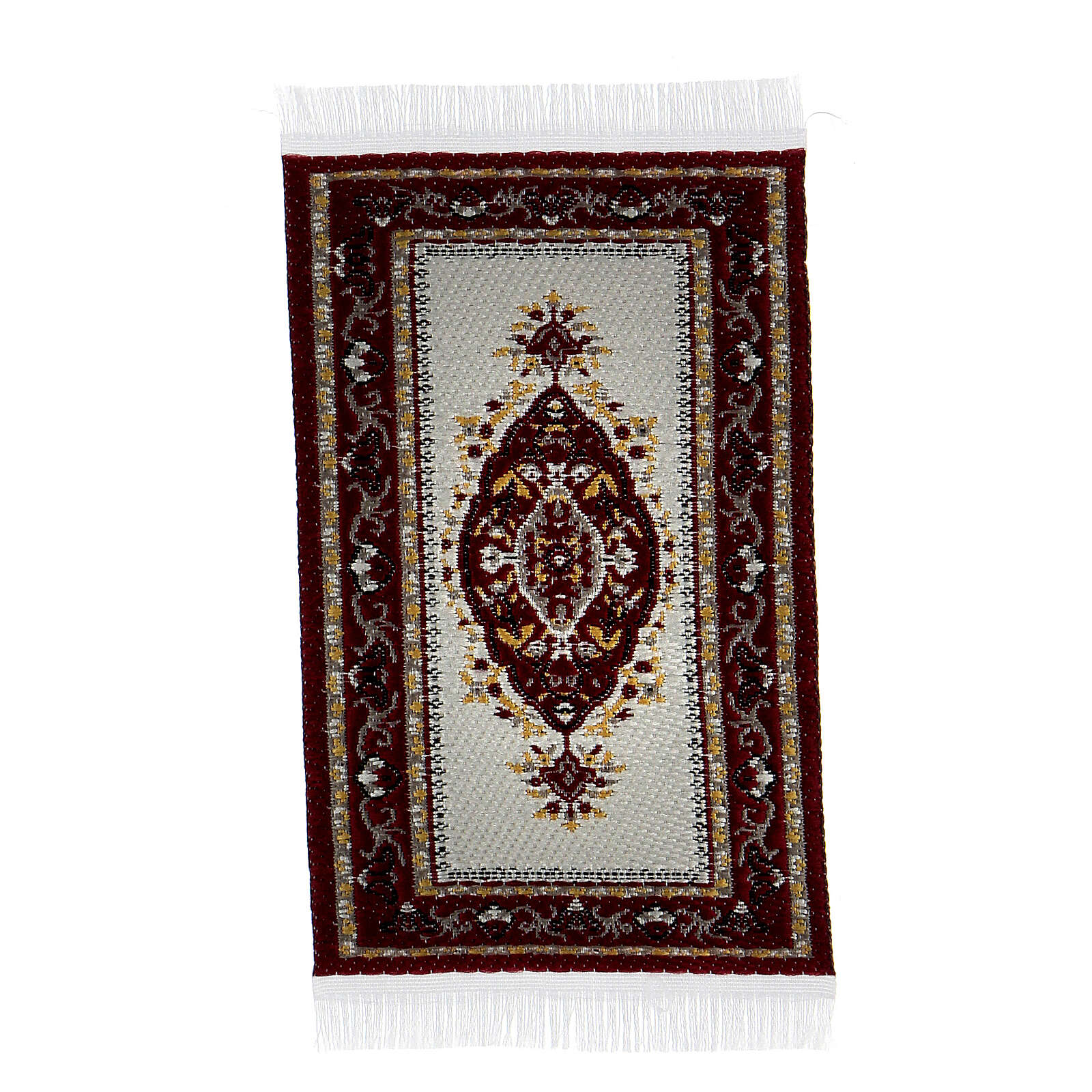 Decorated carpet 8x5 cm for Nativity Scene with 10-16 cm figurines 4