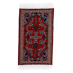 Decorated carpet 8x5 cm for Nativity Scene with 10-16 cm figurines s4