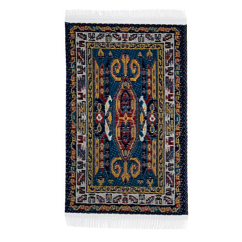 Decorated carpet 8x5 cm for Nativity Scene with 10-16 cm figurines 1
