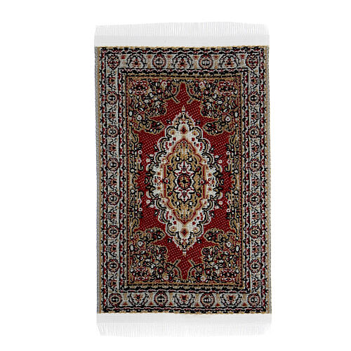 Decorated carpet 8x5 cm for Nativity Scene with 10-16 cm figurines 6