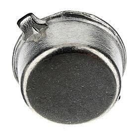 Set 4 casseroles métal crèche 6-8 cm s6