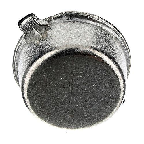 Set 4 casseroles métal crèche 6-8 cm 6